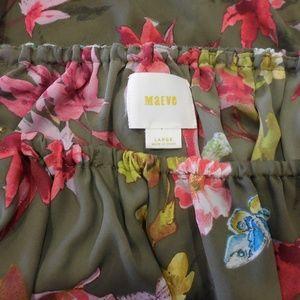 "Anthropologie Tops - $78~ANTHRO ""MAEVE"" Vallita Off-Shoulder Floral Top"